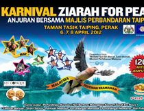 Ziarah For Peace 2012